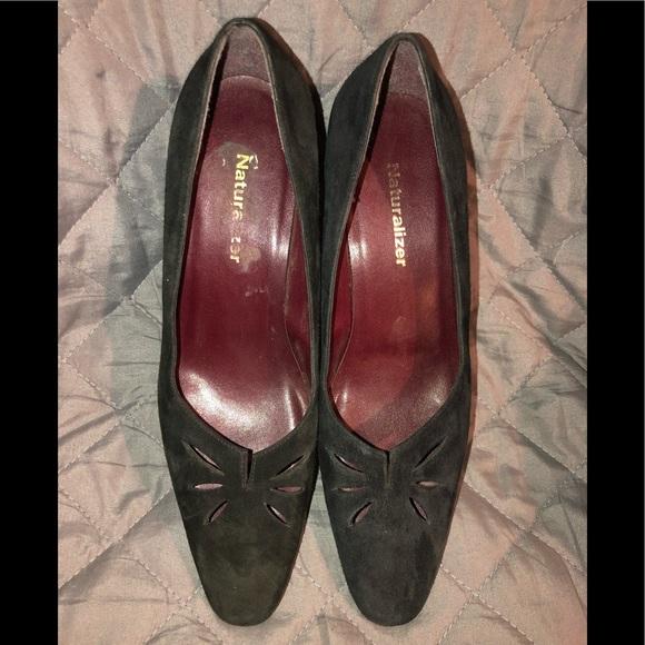 Naturalizer Shoes - Naturalizer Suede Heels